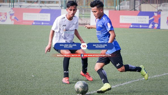 Premiering now, Shillong College takes on DAV PG College in a 12-goal extravaganza