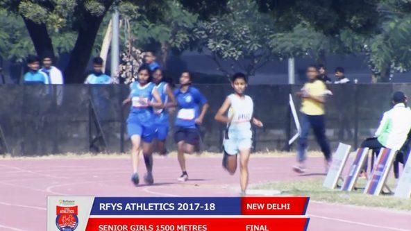 RFYS 2017 Delhi SENIOR GIRLS 1500 M FINAL