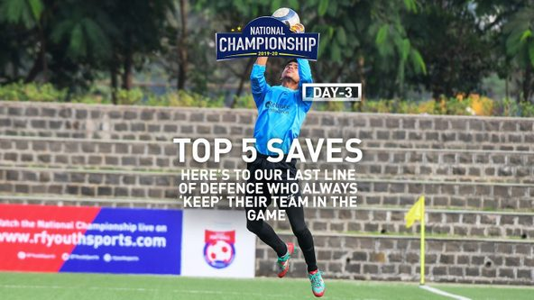 Top 5 saves from Day 3