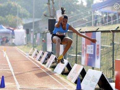 National Championship, Athletics Day 2: Sub Junior Girls