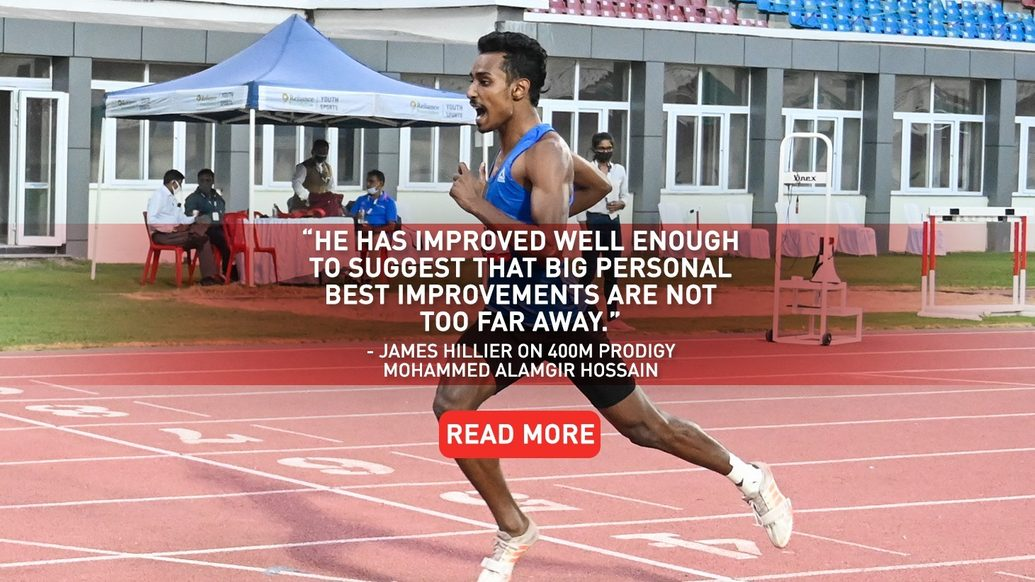 MEET 'MD' ALAMGIR HOSSAIN FROM RELIANCE FOUNDATION ODISHA ATHLETICS HPC – READY TO SCORCH THE SINGLE LAP CHALLENGE