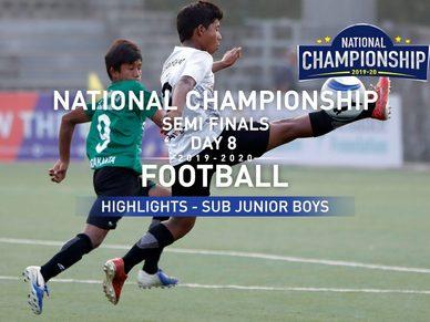 RFYS National Championship 2019-20 | Day 8 Hlts | Sub Junior Boys Semi Finals | GMHS vs PHS (1-1)