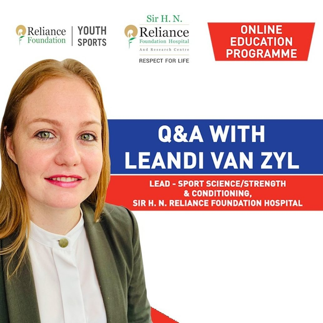 Q&A with Leandi van Zyl | Train Right & Get Back To Sports.