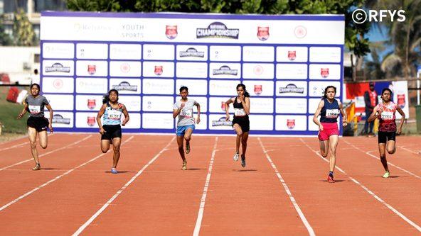National Championship, Athletics Day 3: Senior Girls