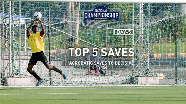We've got them all in our Top 5 saves from Day 5