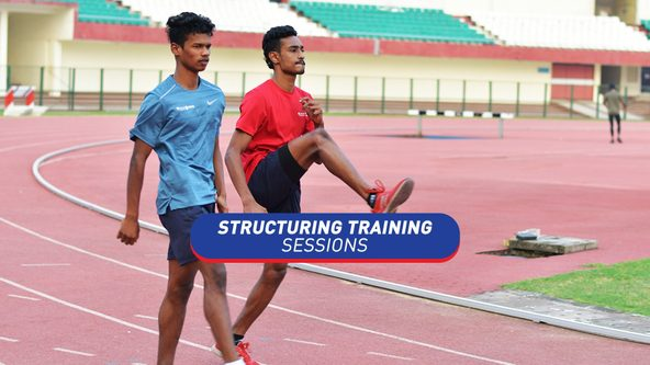 How to Structure Training Sessions