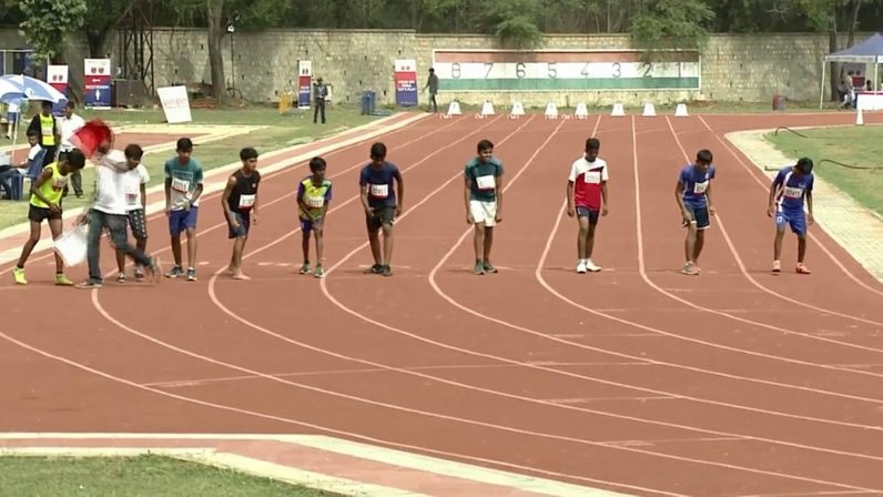RFYS 2018 BANGALORE JUNIOR BOYS 800 METRES FINALS