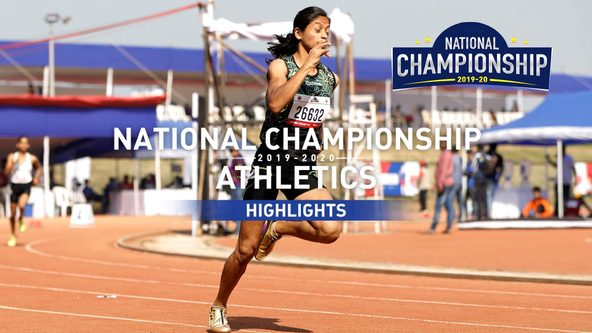 RFYS Athletics National Championship 2019-20 | College Girls 400 M Highlights