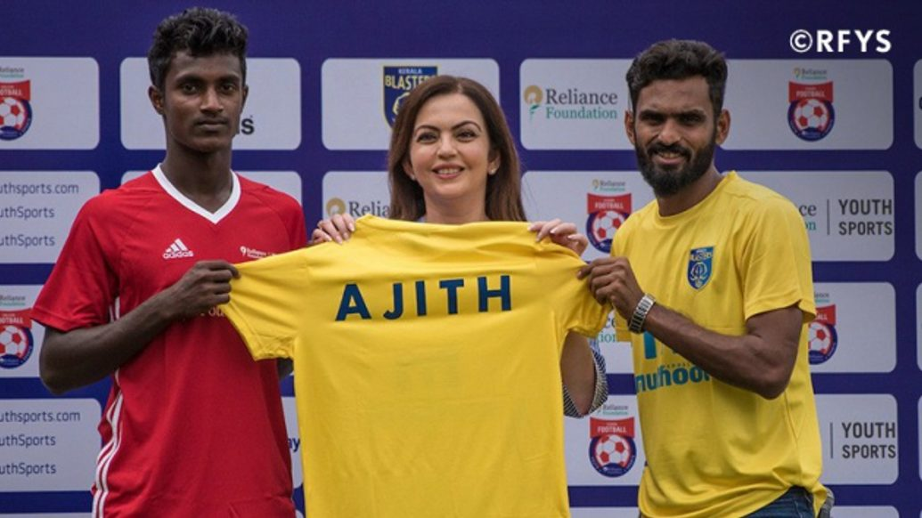 Ajith's story is going to inspire many young children – Mrs. Nita Ambani