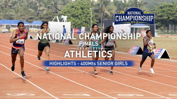 RFYS Athletics Championship 2019-20 | Senior Girls 400M Highlights