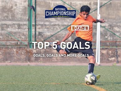We've picked the Top 5 goals from goals galore on day 6 of the 2019-20 RFYS National Championship