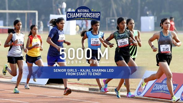 Kajal Sharma swept aside all competition with a brilliant run
