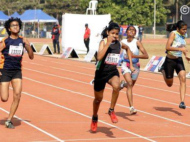 National Championship, Athletics Day 3: Sub Junior Girls