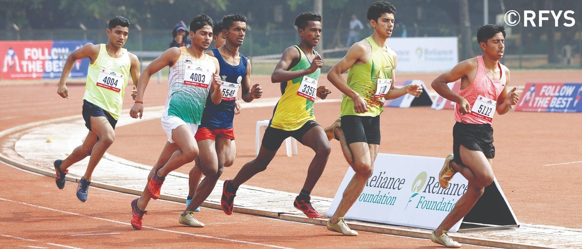 National Championship, Athletics Day 1: Sub Junior Boys