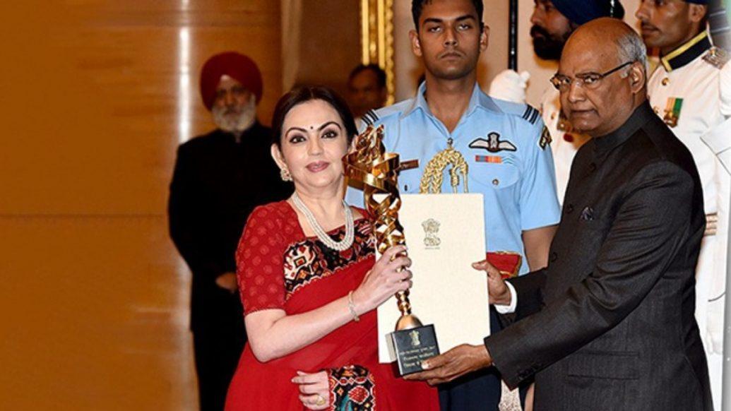 Reliance Foundation Conferred with Rashtriya Khel Protsahan Puruskar