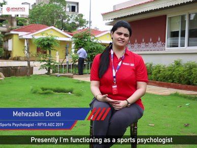 AEC 2019 Interview    Mehezabin Dordi - Sports Psychologist