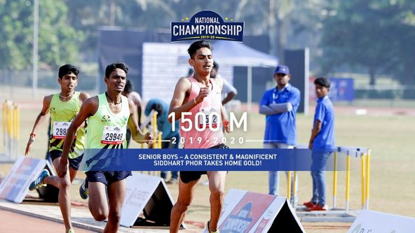 Senior Boys: Siddhart Phor's incredible endurance wins him Gold
