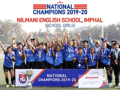 Here are your School Girls winners from the Nilmani English School, Imphal