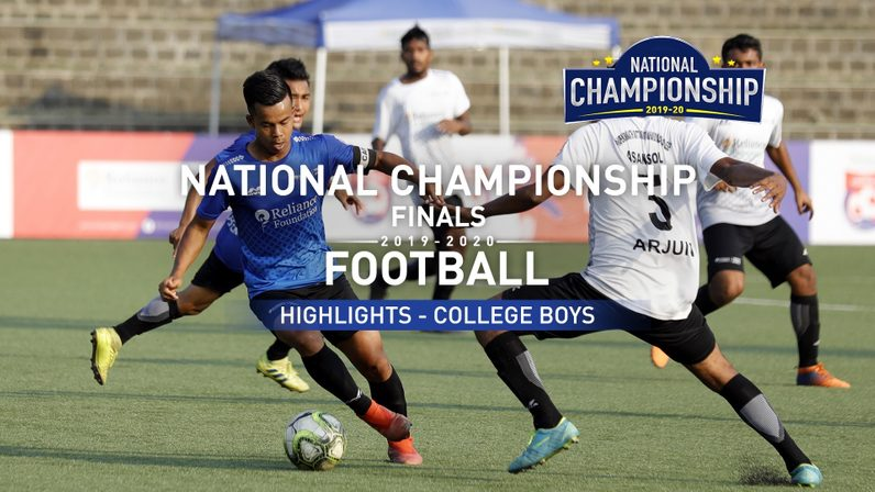 RFYS National Finals 2019-20 | College Boys Finals Highlights | SC vs Dr.BDSM (4-4)