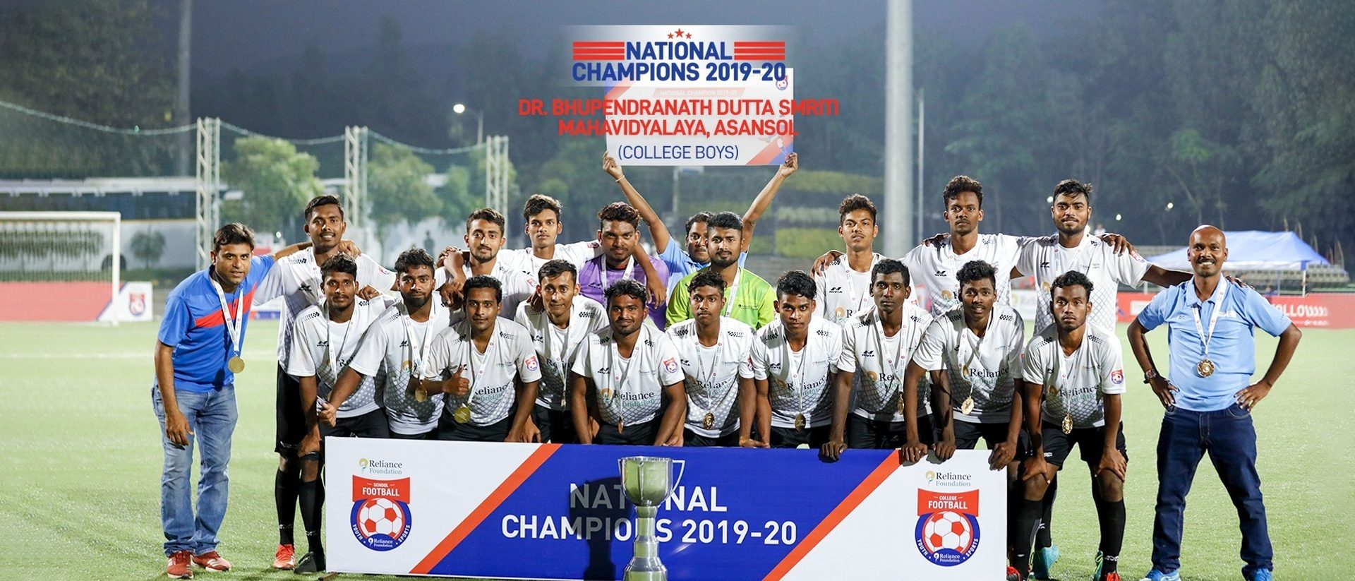 College Boys: DBDS Mahavidyalaya thump in the goals en route to the Title