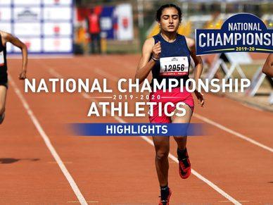 RFYS Athletics National Championship 2019-20 | Senior Girls 200 M Highlights