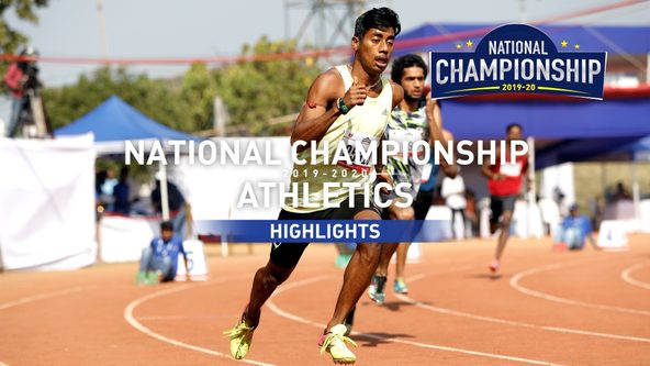 RFYS Athletics National Championship 2019-20 | College Boys 400 M Highlights