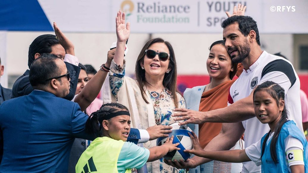 Nita Ambani calls for inclusive growth of sports in education