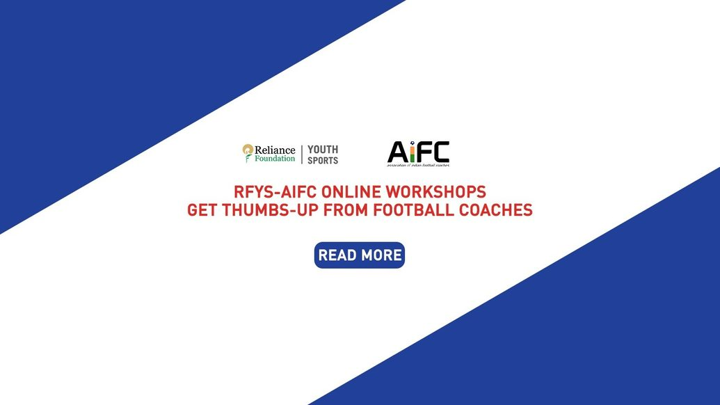 """""""GREAT LEARNING EXPERIENCE"""": RFYS-AIFC ONLINE WORKSHOPS GET THUMBS UP FROM FOOTBALL COACHES"""