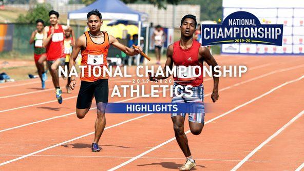 RFYS Athletics National Championship 2019-20 | Sub Junior Boys 4 x 100M Relay Highlights