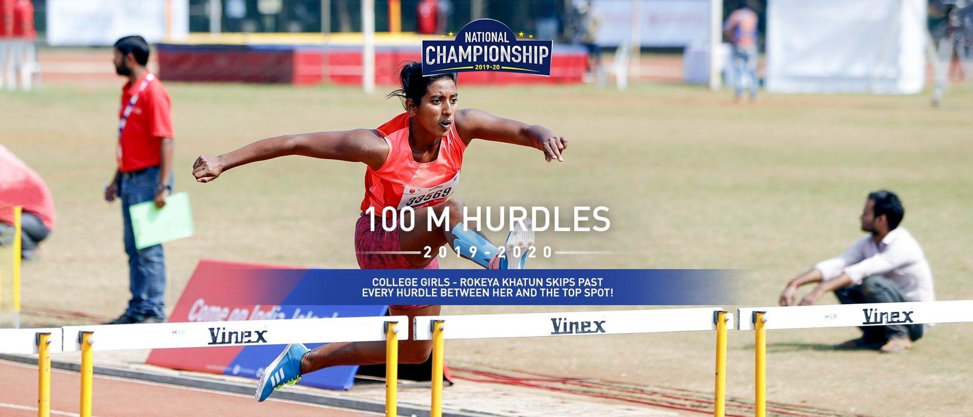 College Girls: Rokeya Khatun wins Gold with a dominating performance!