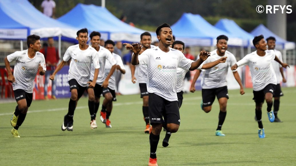 National Finals, College Boys: Dr. Bhupendranath Dutta Smriti Mahavidyalaya, Asansol clinch the title in a penalty shootout drama