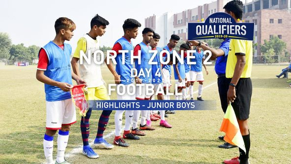 RFYS National Qualifiers 2019-20 | Junior Boys North Zone 2, Day 4 Hlts | MSMV vs MMSSS (0-5)