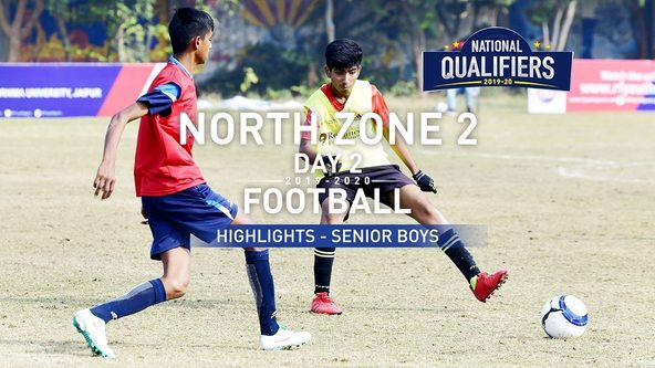RFYS National Qualifiers 2019-20 | Senior Boys North Zone 2, Day 2 Hlts | MSMV vs VNSPS (4-8)
